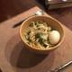 lebanese-savory-garlicky-lentil-noodles-and-egg-soup-with-bak-choi-and-lemon-recipe