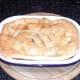 Steak and venison sausage pie