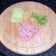 Prepared ham and celtuce