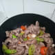 Add the marinated gizzards. Stir-fry until done. Optional: you may add other veggies such as green beans and some oyster sauce for more flavor