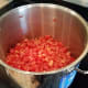 Pour them into your large pot.