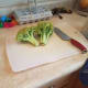 Chop your broccoli