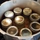 My canner holds 9 jars, but I learned that they needed to be packed a little looser.
