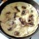Garlic mushrooms tortilla