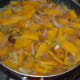 Allow the mixture to boil. Cover the pan and cook for 15-20 minutes or until the pumpkin cooks thoroughly.