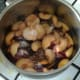 Plums are ready for stewing