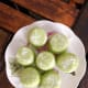 Yummy steamed pandan coconut cakes!
