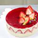 Gluten-free and lactose-free strawberry shortcake. Finished!