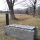 Outdoor evaporator (side view).