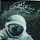 U.S. astronaut on the mural
