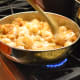 "Cook the shrimp on the stovetop, in oil and spices ""Treebeards style."""