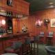 Dining room bar area