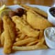 Fried catfish platter