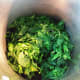 Nettles steamed and drained