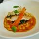 Six-ounce pan-seared salmon