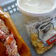 Lobster Roll with Clam Chowder