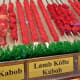 Kabobs ready to be cooked in-store or at home