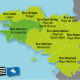 The counties of 9th Century Brittany, as 'lively' then as Brittany was in the time of Duke William fitzRobert