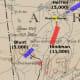 Battle Map of Prairie Grove
