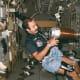 First Dutchman in space, Wubbo Ockels, in Spacelab