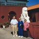 Left to right: My husband, mother, and mother-in-law at the Forbidden Gardens