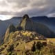 Machu Picchu a fifteenth- century Inca citadel situated on a mountain 7972 feet above sea level.