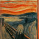 The Scream by Edvard Munch, 1893. The flagship example of modern art.