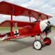 A replica of Manfred von Richthofen's triplane.