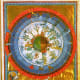 This illumination comes from Hildegard's book On God's Activity. Note how the earth is depicted as round.