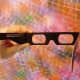 3D glasses used at I Come From The Water by Felipe Lopez exhibit at KCAM