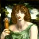 Mnemosyne is the titan goddess of memory and remembrance. She gave birth to the Muses after having an affair with Zeus.