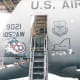 Artwork on a C-5 Galaxy, Andrews AFB, MD, circa 1985.