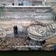 ISIS destroyed the mausoleum of Nabi Yunes
