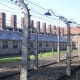 There was double barbed wire fences surrounding the concentration camp to prevent escapers. If an escapee attempted they would be shocked by an electrica current that was fatal.