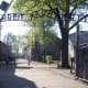 The entrance to the concentration camp Aushwitz.