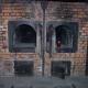 This is the crematorium wihtin the concentration camp Auschwitz.