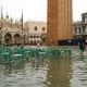 Flooded Saint Mark's Square - Acqua Alta in Piazza San Marco.
