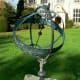 Astrolabe, Avebury Manor, Avebury. It is an astrolabe, an instrument to locate and predict the future locations of the sun, moon, stars and planets.
