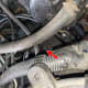 Locate the PCV valve.