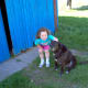 Even my niece Anaiya, afraid of most other dogs at the time, loved Dakota.