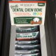 The Dr Mercola Dental Chews can be bought in packs of 12 at a cost-saving over the price of individual bones.