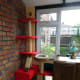 The modified cat tree in the conservatory prior to building the cat highway.