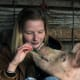 Much like cats and dogs, pigs can form intense, loving bonds with their owners.