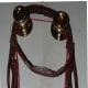 Anti buck string on bridle.