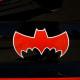 Painted on Batmobile