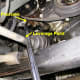 F.  Removal of the power steering pump belt