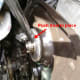 X. Pressing in a new camshaft oil seal