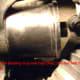 R.  Attach the bearing cup and cup disc, then run bolt through hub