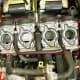 Finally a glimpse of the actual carburetors!