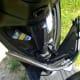 Open glove box of Piaggio Liberty 150